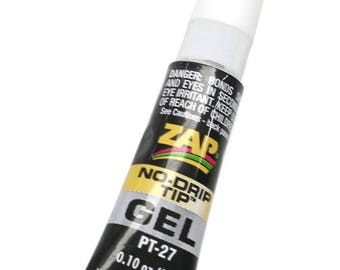 839ae145e122 Zap Gel Glue Boxed With Instructions~ Strong Non Drip Adhesive For  Jewellery Making