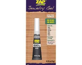 Zap Gel Glue Boxed With Instructions Strong Non Drip Adhesive For Jewellery Making, Kumihimo, Macrame, Braiding, Crafts, Sewing +More