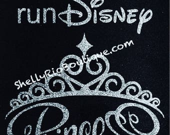 Princess Run Iron On