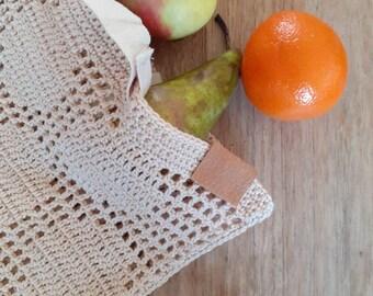 Crochet marketbag