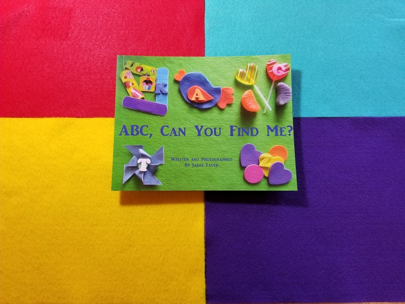 Sale ABC Can You Find Me An alphabet search book FREE US image 0
