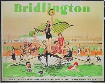 1920/'s LNER Dunbar Railway A3 Poster Reprint