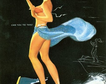 1950's Vintage Pin-Up Girl Poster 29
