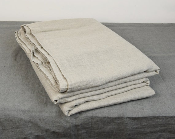 100% linen flat sheet. NATURAL bedding collection. Not dyed linen flax color. Single, twin, double, queen, king, custom sizes. Stone washed.
