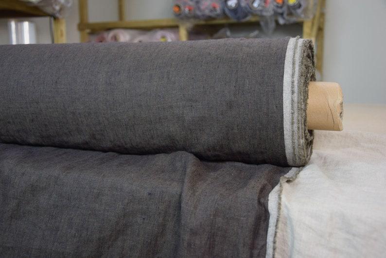 SWATCH sample 12x12cm 5x5. Pure 100% linen fabric image 0