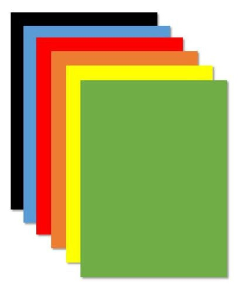 Green Flexible Magnetic Sheet  Pick From Five Sizes Material Magnet Arts Crafts