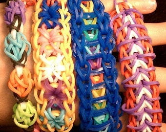 Rubberband bracelet made to order