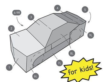 Transforming Car Costume for Kids