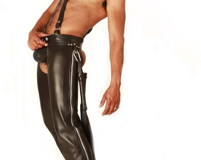 Featured listing image: Custom Leather Chaps