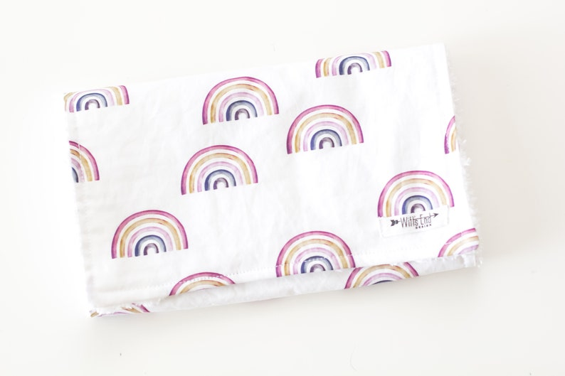 modern burp cloth burp cloth Burp cloth-RAINBOW burp cloth Rainbow Burp Rag burp pads boho Mix /& Match burp cloth-Baby Shower Gift