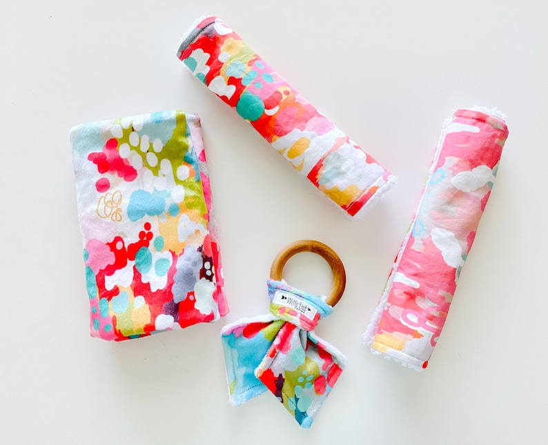 Ikat burp cloth Burp cloth-CANDY Burp Rag modern burp cloth burp pads burp cloth Mix /& Match burp cloth-Baby Shower Gift