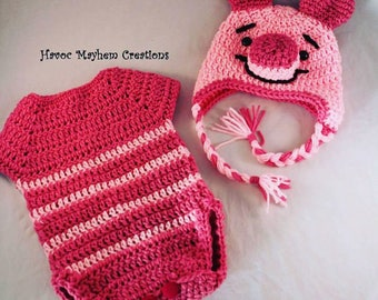"Baby Winnie the Pooh ""Piglet"" Costume."