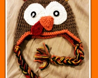 Crochet Turkey Beanie