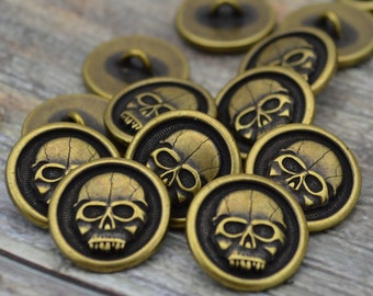 304 Stainless Steel Smooth  Clasps Skull Cord Ends with Key Rings YOM17