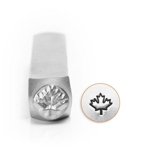 Jewellers Tools Maple Leaf Metal Stamp Punch