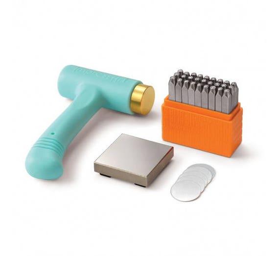 Steel Punches for Metal Stamping Uppercase 3mm ImpressArt Basic Metal Stamp Set
