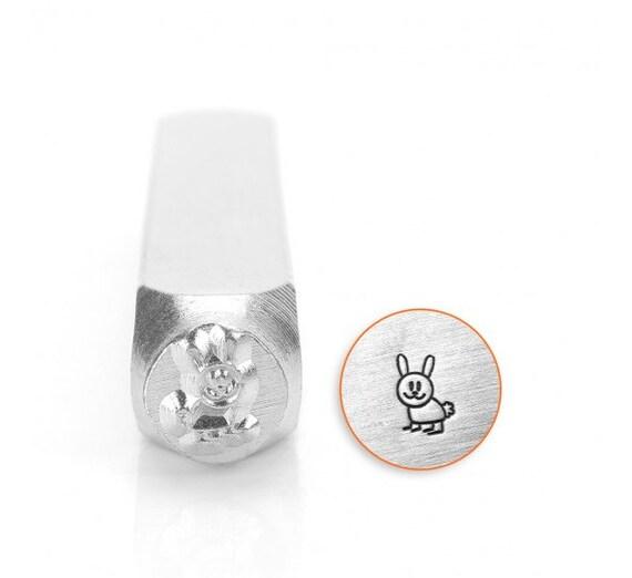 Hopper Rabbit Metal Stamp ImpressArt 6mm Jewelers Tool