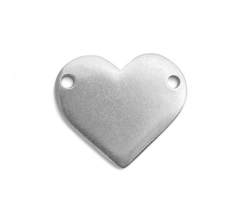 2e31703c065 HEART with HOLES Blanks ImpressArt Pewter Stamping Blank