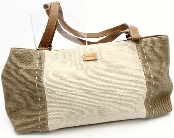 Beige and Taupe Day Purse