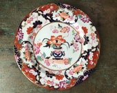 Fine Antique Victorian Imari Porcelain Dinner Plate