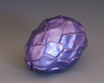 Purple Dragon Egg Gourd Art