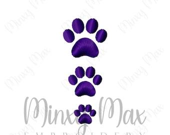 paw print etsy rh etsy com Paw Print Clip Art No Background Paw Print Clip Art Black and White