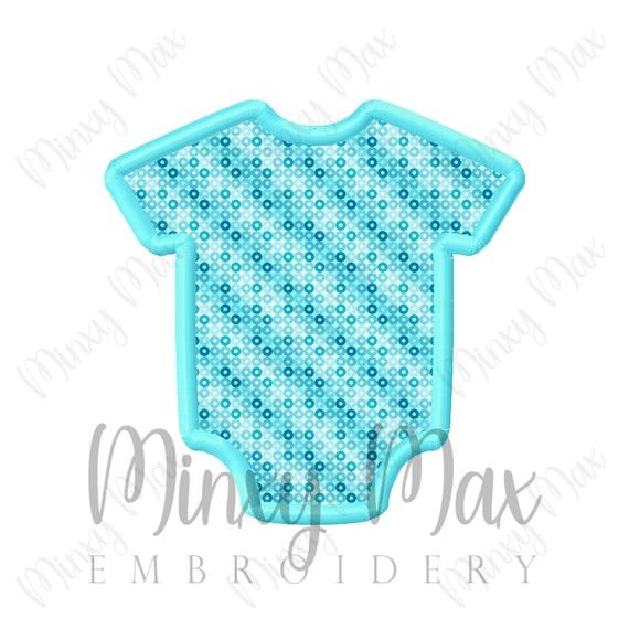 Baby Jumper Onesie Applique Machine Embroidery Design 4x4 5x7 Etsy