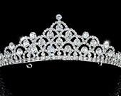 Exquisite Bridal Wedding Pageant Sparkling Crystal Tiara (501)