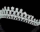 Exquisite Bridal Wedding Pageant Sparkling Crystal Tiara (500)