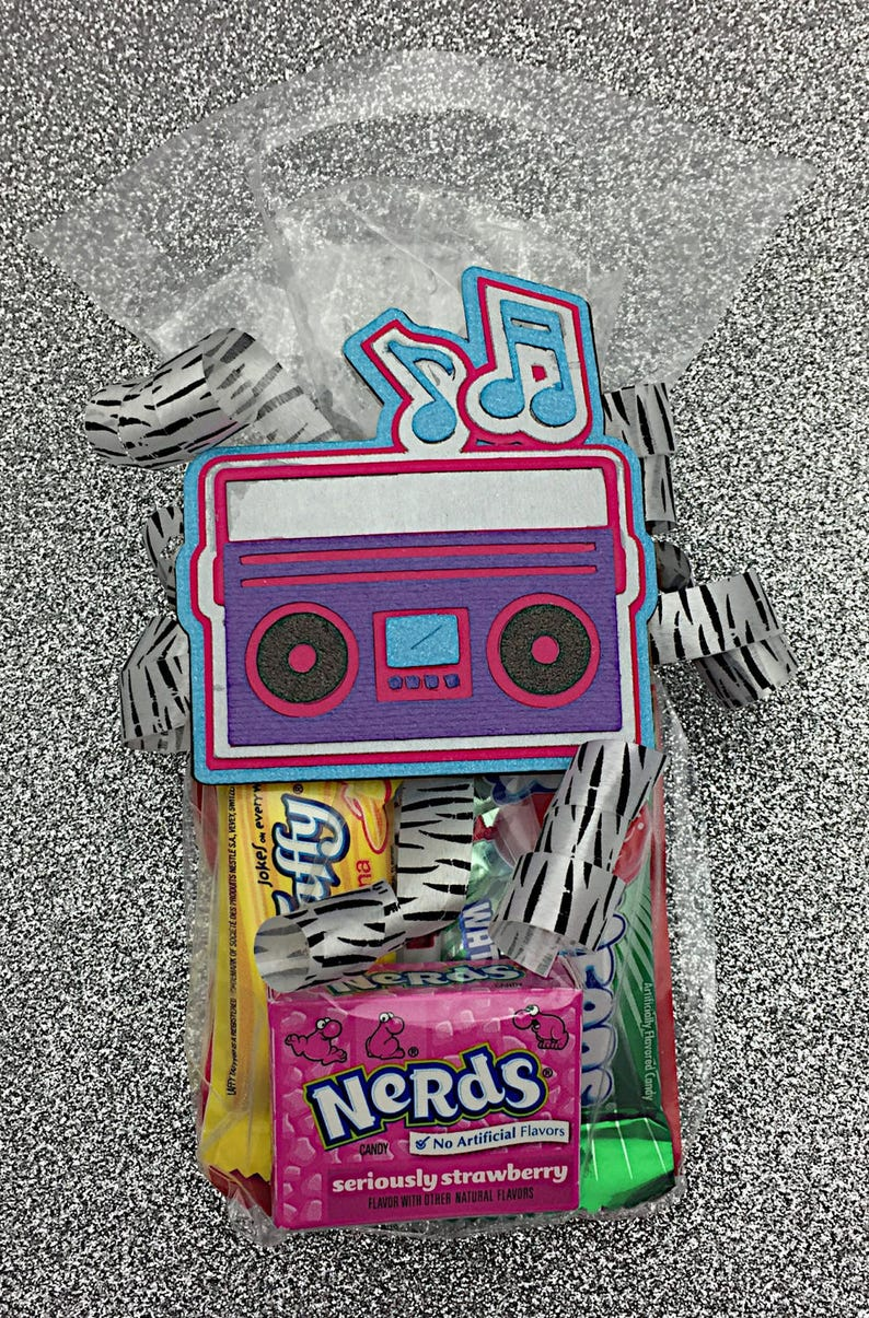 Rockstar Birthday Rock Star Party Rock Star Birthday Boombox Tag Rockstar Party Rock Star Baby Shower Rock and Roll Party