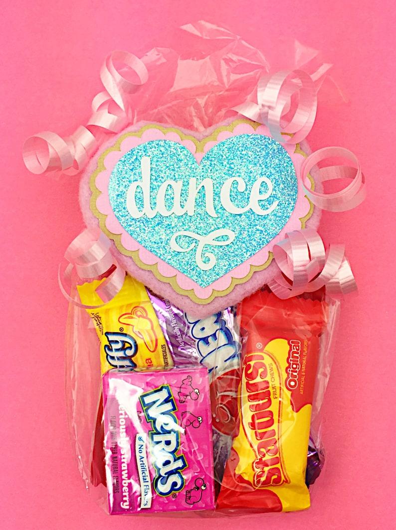 Gift for Dancer Dancer Dance Gift Dance Teacher Gift Dance Coach Dancer Gift Coach Gift Idea Dance Favor Bag Dance Heart Tag