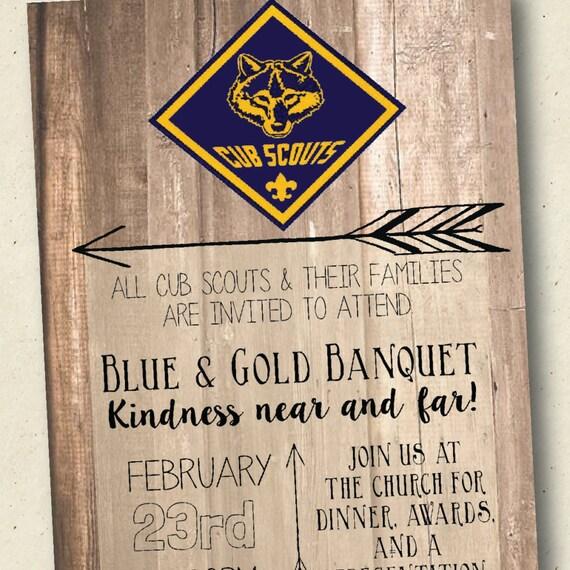 Blue And Gold Banquet Template Jerusalem House