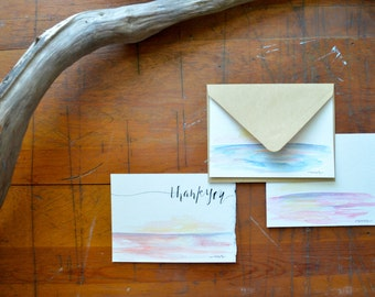 Hand Painted Greeting Cards/Stationary