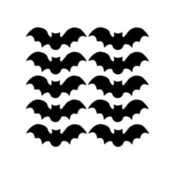 Bats Vinyl Stickers, Halloween Bat Decals, Halloween Decorations, Fall  Decor, Halloween Decals, Funny Scary Ghosts, Window Bat Stickers