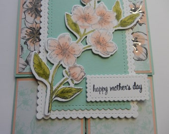 Dutch Door Cherry Blossom Mother's Day Card