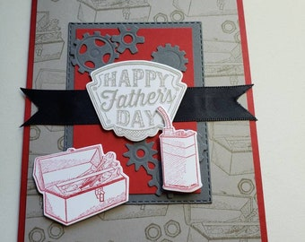 Father's Day Card With Gears