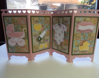 Handmade Baby Screen Card