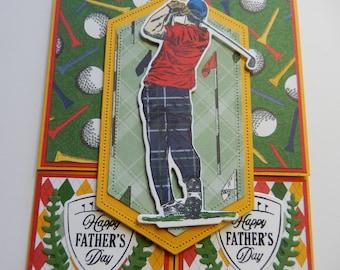 Dutch Door Golf Father's Day Card