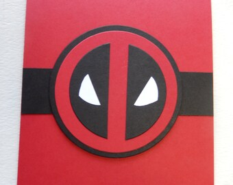 Deadpool Birthday Card