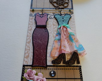 High Fashion Mixed Media Tag