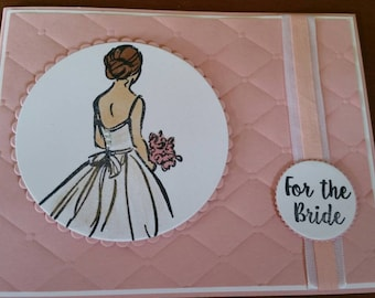 For the Bride Wedding Shower Card
