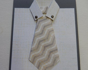 Shirt and Tie Birthday Card