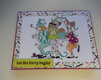 Party Girls Card