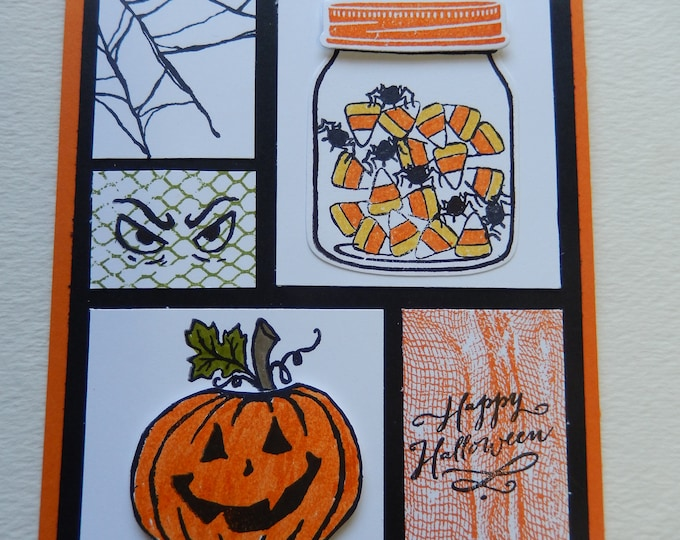 Featured listing image: Halloween Collage Card