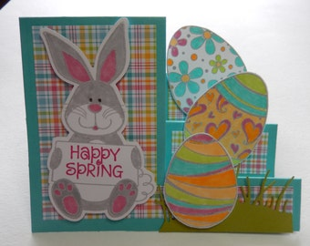 Stair Step Easter Card