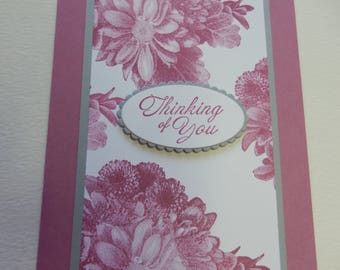 Sweet Sugarplum Thinking of You Card