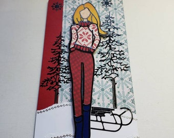 Winter Scene Tag