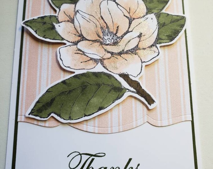 Featured listing image: Magnolia Thank You Card