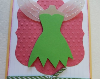 Disney Tinkerbell Birthday Card