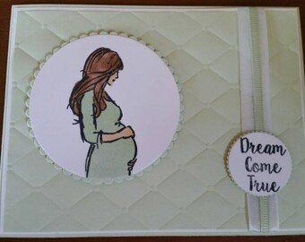 Dream Come True Baby Card